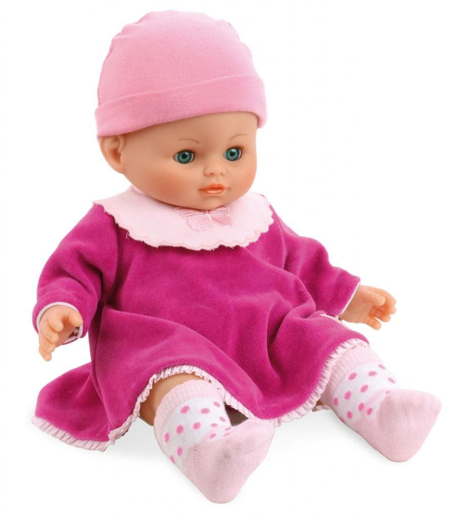 Petitcollin Petit Calin doll suitable for very young children