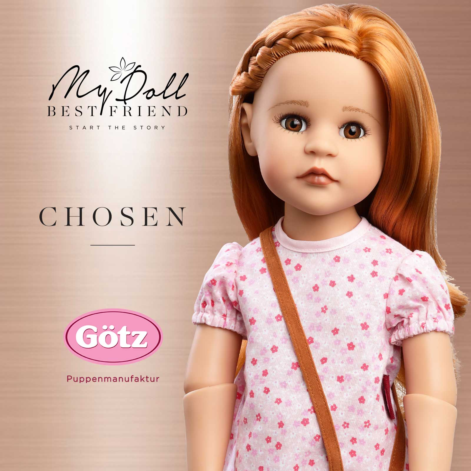 My Doll Best Friend Chosen Gotz Happy Kidz Isla Promotional Image November 2019