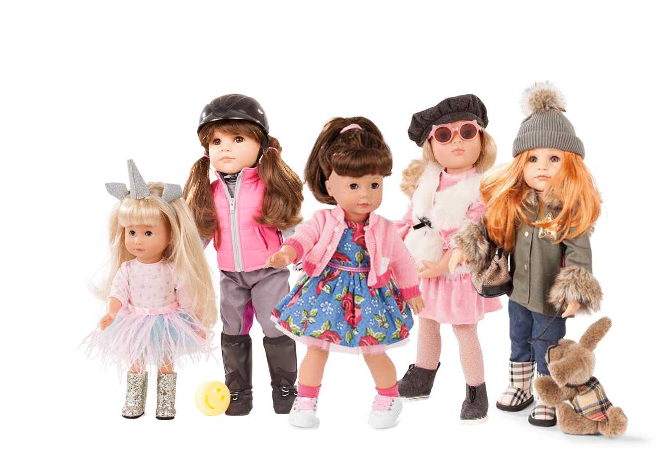 Gotz Standing Dolls