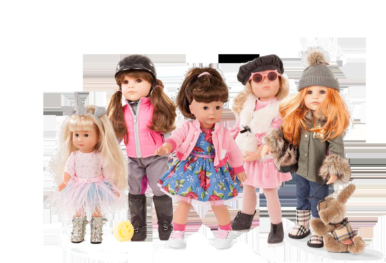 White/Caucasian Dolls