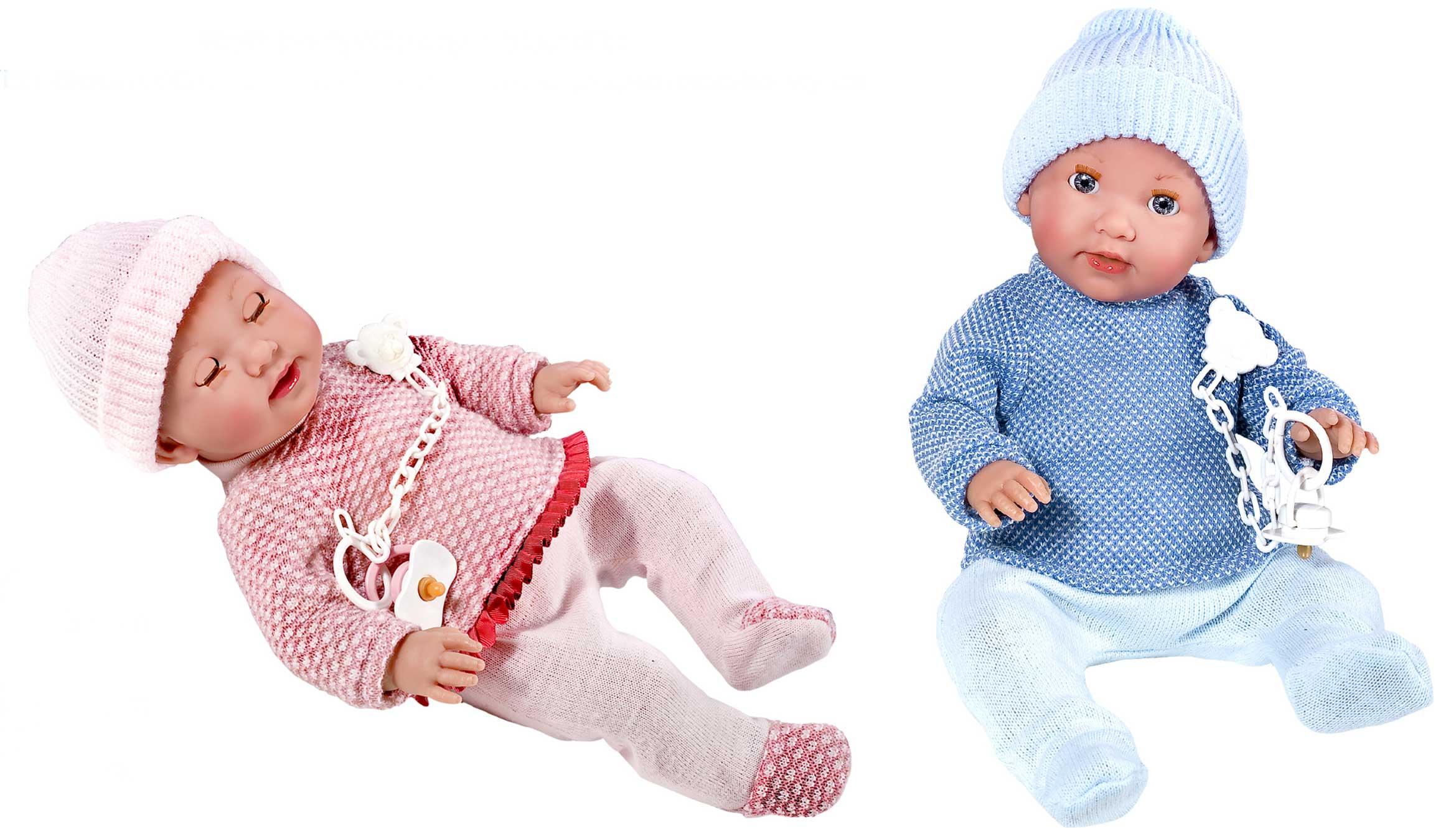 38cm Dylan, Luna, Alba, Angel Baby Dolls