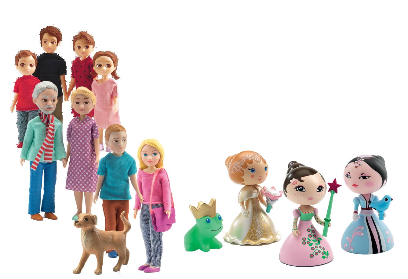 Mini & Dolls House Dolls