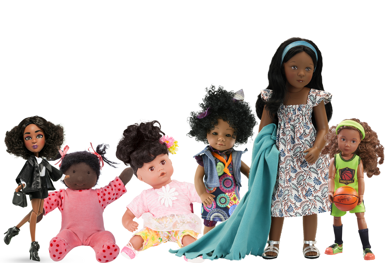 Black/Brown Dolls