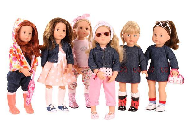 Happy Kidz Dolls, Hannah & Precious Day XL