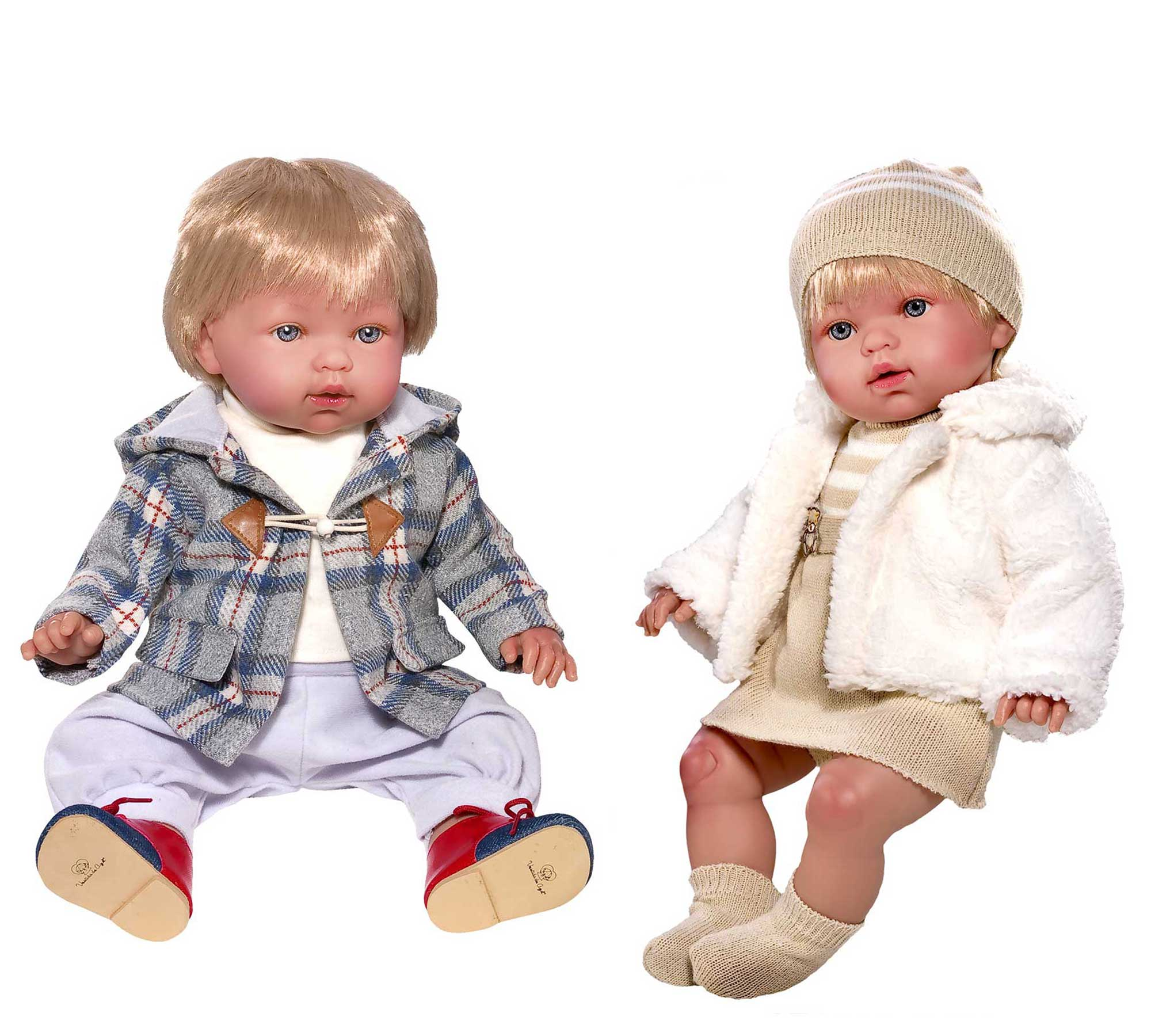 42-45cm Baby Dolls Marina & Tonino