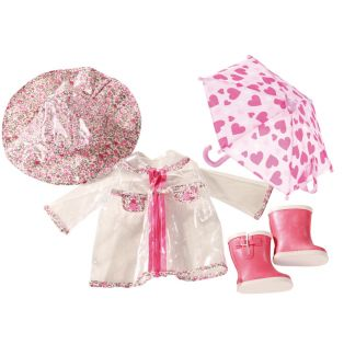 Gotz Rainy Day 4 Piece Set 45-50cm, XL