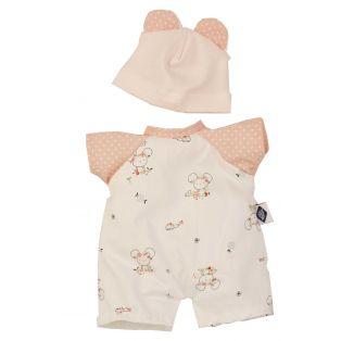 Schildkrot Schmuserle Cute Mouse Romper Outfit 28cm