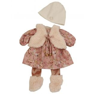 Schildkrot Clothes for doll 45 cm Hanni / Susi / Amy in Pinks, 45cm