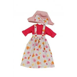 Schildkrot Yella Doll 46cm Blonde's Clothing Set