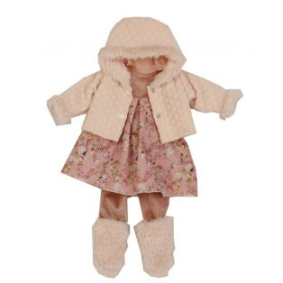 Schildkrot Clothes for doll 52 cm Elli / Klara / Julchen Winter Rose