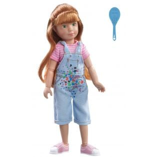 Kruselings Chloe Gifted Painter Action Doll 23cm