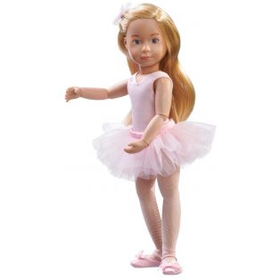 Kruselings Vera Ballet Lesson Action Doll 23cm