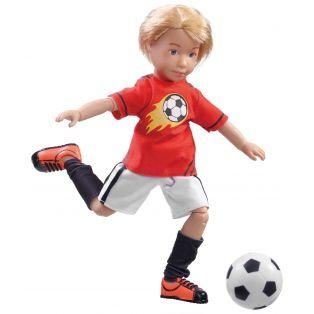 Kruselings Michael Boy Action Doll Soccer Ace 23cm