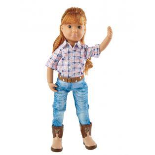 Kruselings Chloe Riding Cowgirl Action Doll 23cm alternate image