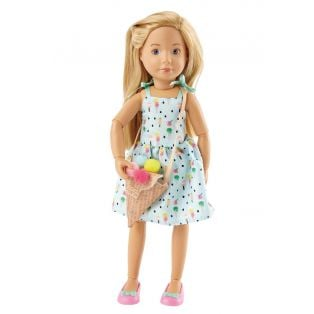 Kruselings Vera Sweet Mint Girl Action Doll 23cm