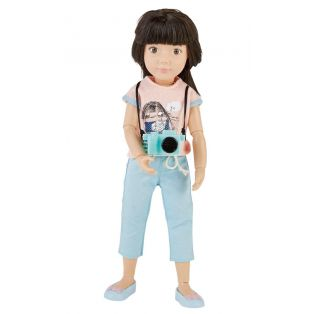 Kruselings Luna Cute Photographer Action Doll 23cm alternate image