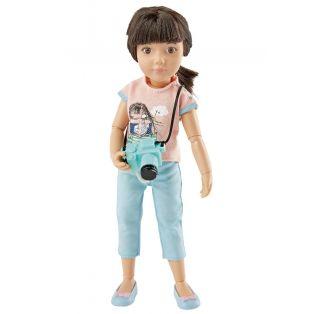 Kruselings Luna Cute Photographer Action Doll 23cm