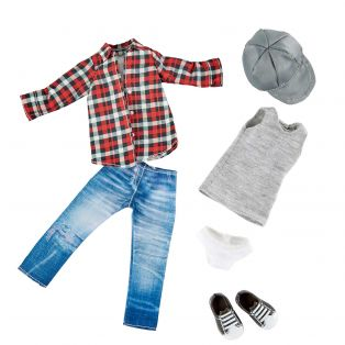 Kruselings Michael Skater Outfit 23cm