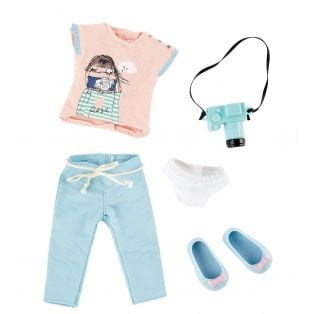 Kruselings Luna Cute Photographer Outfit 23cm