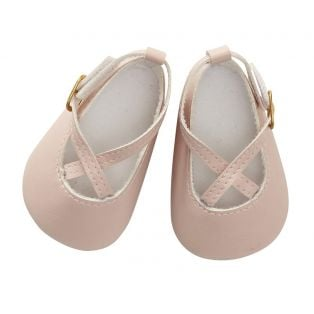 Astrup Doll Shoes, Powder, 7 x 4cm