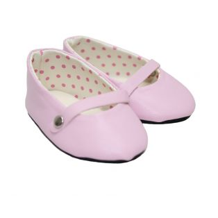 Ballet Flats With Strap (Pink)