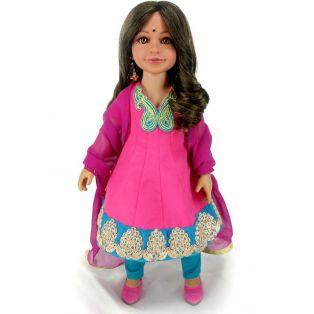 Carpatina Indian Anarkali Dolls Outfit