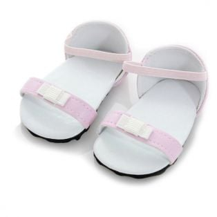 Bow Sandals (Pale Pink)