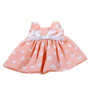 Gotz Peachy Dot Dress, XL