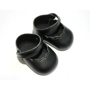 Mary Jane Shoes 6cm (Black)