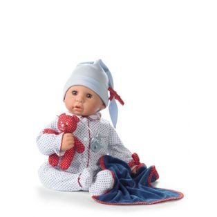 Gotz Cookie Care Baby Girl or Boy Doll Blue Spots 48cm, L
