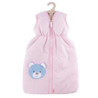 Heless Doll's Sleeping Bag in Pink 37cm