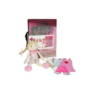 Egmont Toys Eugenie Rag Doll In Her Case With Clothes alternate image