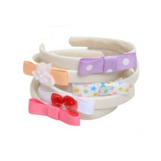 Doll Headband (Assorted White)