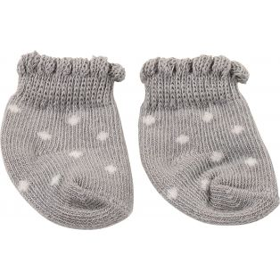 Socks - Gotz Grey Ankle Socks 30-50cm, S, M, L, XL