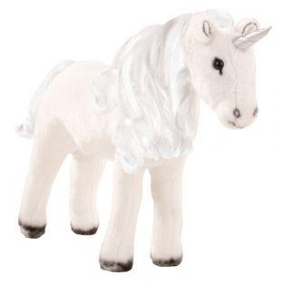 Gotz Unicorn With Mane & Tail To Comb & Hairbrush, XL