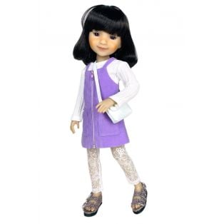 Ruby Red Galleria Fashion Friends Lilac Pop Outfit