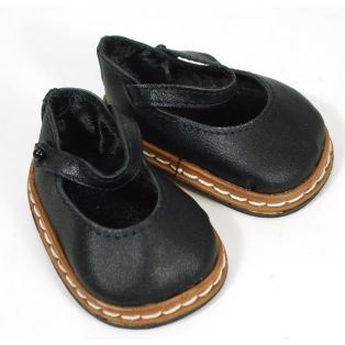 Boneka Mary Janes For Wichtels (Black)