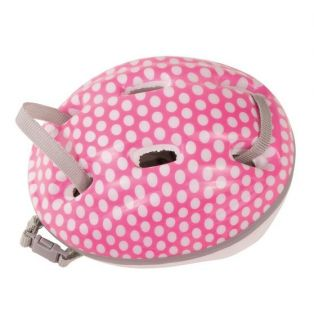 Cycling - Gotz Doll Bicycle Helmet (Pink Spotty) 42-50cm, M, XL