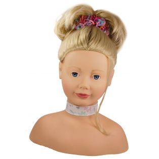 Gotz Hair Styling Doll Head - Blonde
