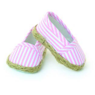 Petitcollin Finouche/Starlette Pink & White Espadrilles