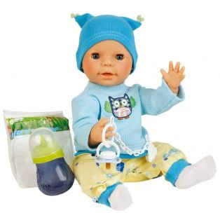 Schildkrot Drink and Wet Anatomically Correct Baby Boy Doll Finn 40cm