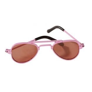 Gotz Pink 'Aviator' Sunglasses, S, M, XL