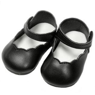 Mary Janes, 7.4cm  (Black)