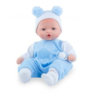 Marina & Pau Blue Sleepsuit and Hat 38 - 40cm