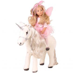 Gotz Unicorn With Mane & Tail To Comb & Hairbrush, XL alternate image