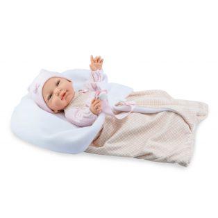 Marina & Pau Newborn Vinyl Baby Girl Doll Marnie 43cm