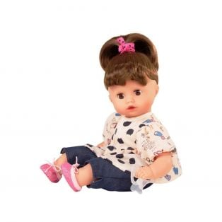 Gotz Little Muffin Brunette Wonderland Doll S