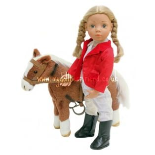 Gotz Hannah's Dark Chestnut Horse, Harness & Saddle, XXS, XS, XL alternate image