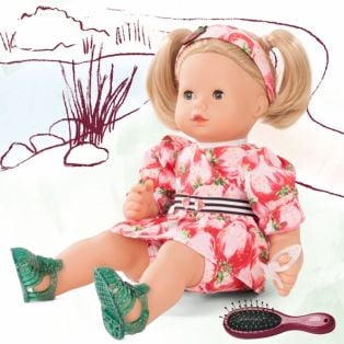 Gotz Maxy Muffin Baby Doll Strawberry Fields, Blonde, 42cm, M