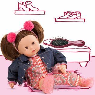 Gotz Maxy Muffin Baby Doll In Vintage, Brunette, 42cm, M